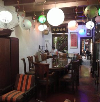 Calanthe Art Cafe-interior