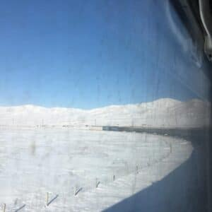 Train from Beijing to Mongolia